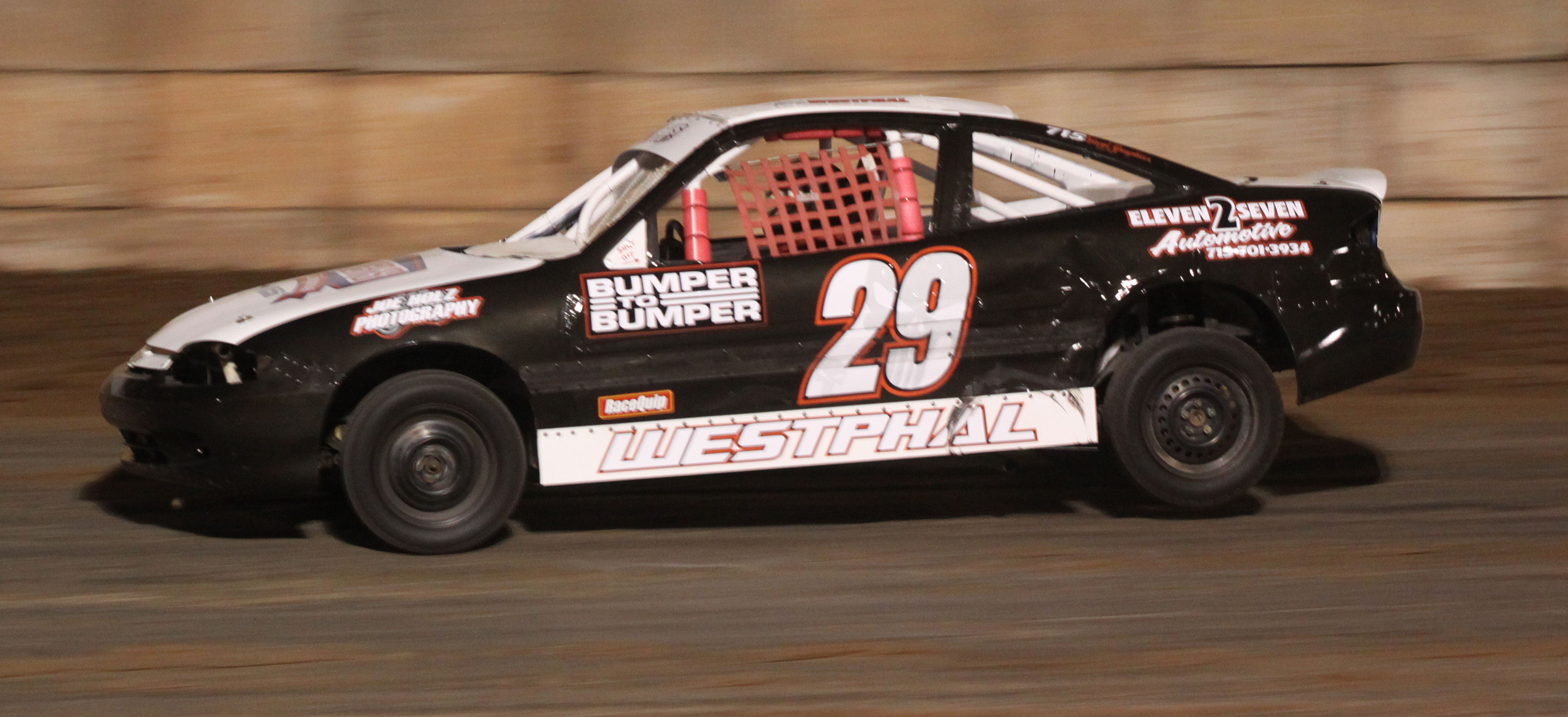 Tanner Westphal picked up a Mighty 4 feature win during the Shawano Speedway&#039;s season opener on Saturday.<br />Morgan Rode | NEW Media