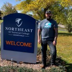 Travis Keiler credits the HSED/GED program at the Northeast Wisconsin Regional Learning Center in Oconto Falls with helping him emerge from mental illness. Contributed