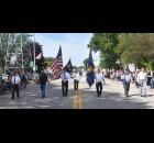 Lena American Legion Post 342 members lead the Lena Dairy Fest Parade. Photo by Mary Koslowski