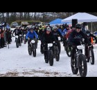 The intermediate field takes off to start the second of three races in the Fatty in the Falls event Jan. 30 in Oconto Falls.