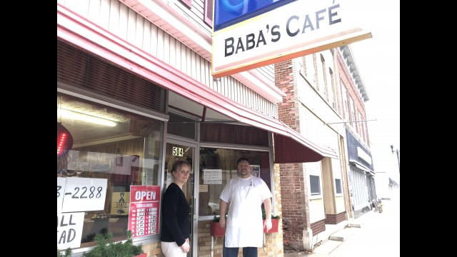 Laura Jolin and Cary Gorski, owners of Baba's Café in Wittenberg, are adjusting to the new normal of working during the coronavirus pandemic. Their hours are 9 a.m. to 1 p.m., Wednesday through Sunday. Miriam Nelson   NEW Media