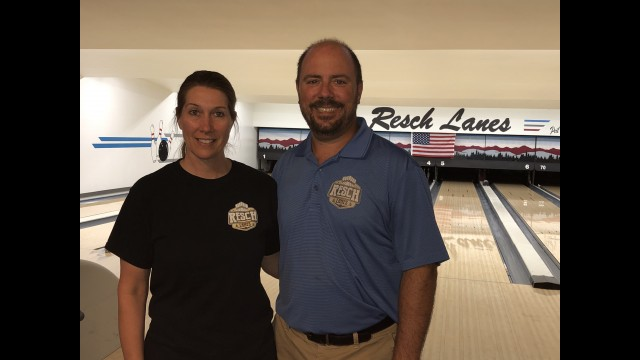Jenny and Jason Resch kept their bowling center open by selling takeout food during the shutdown. They are now offering 10 free Friday night dinners per week for 10 weeks as a way to give back to the community.  Miriam Nelson | NEW Media