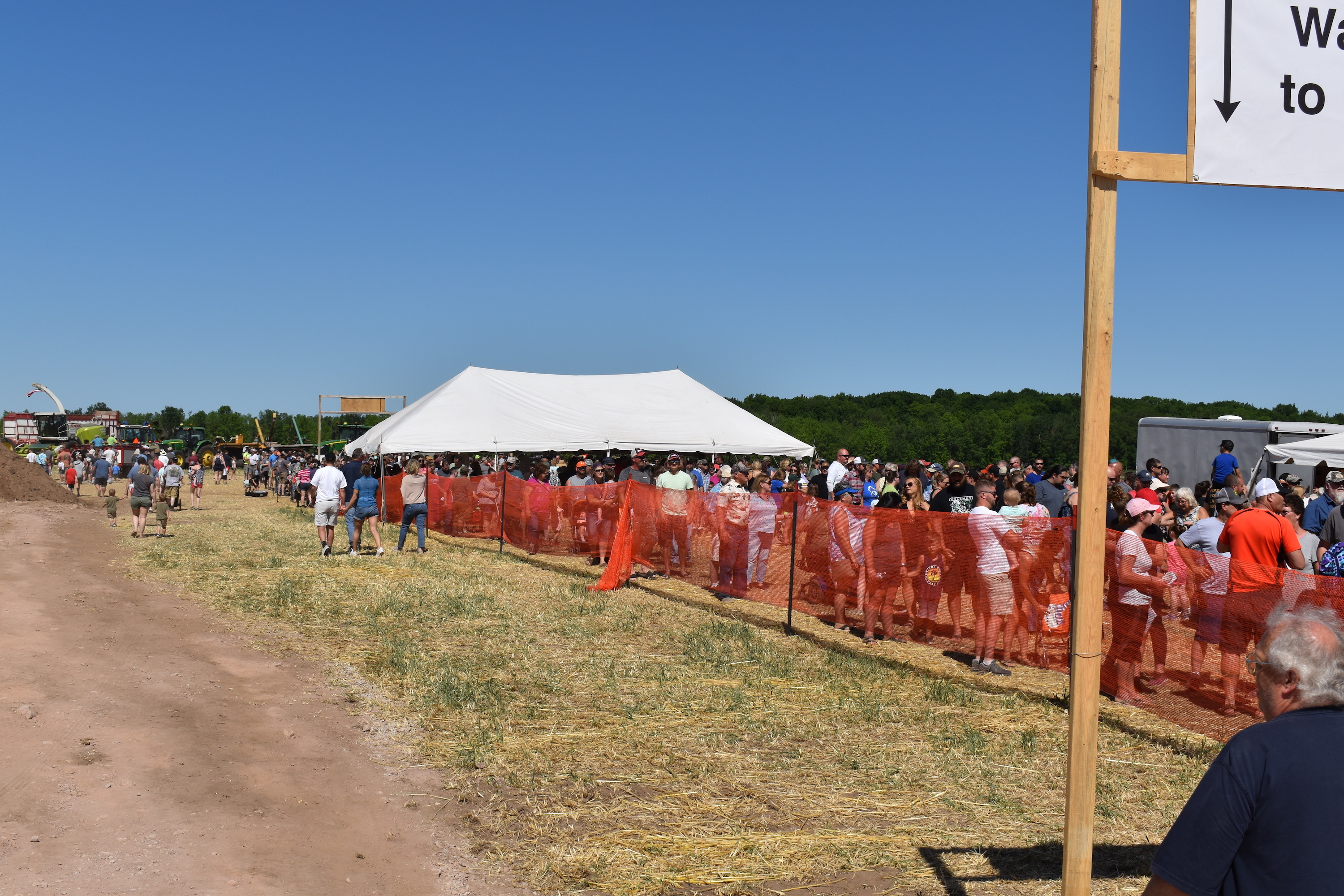 Breakfast on the Farm typically serves about 1,000 people an hour for the five-hour event.