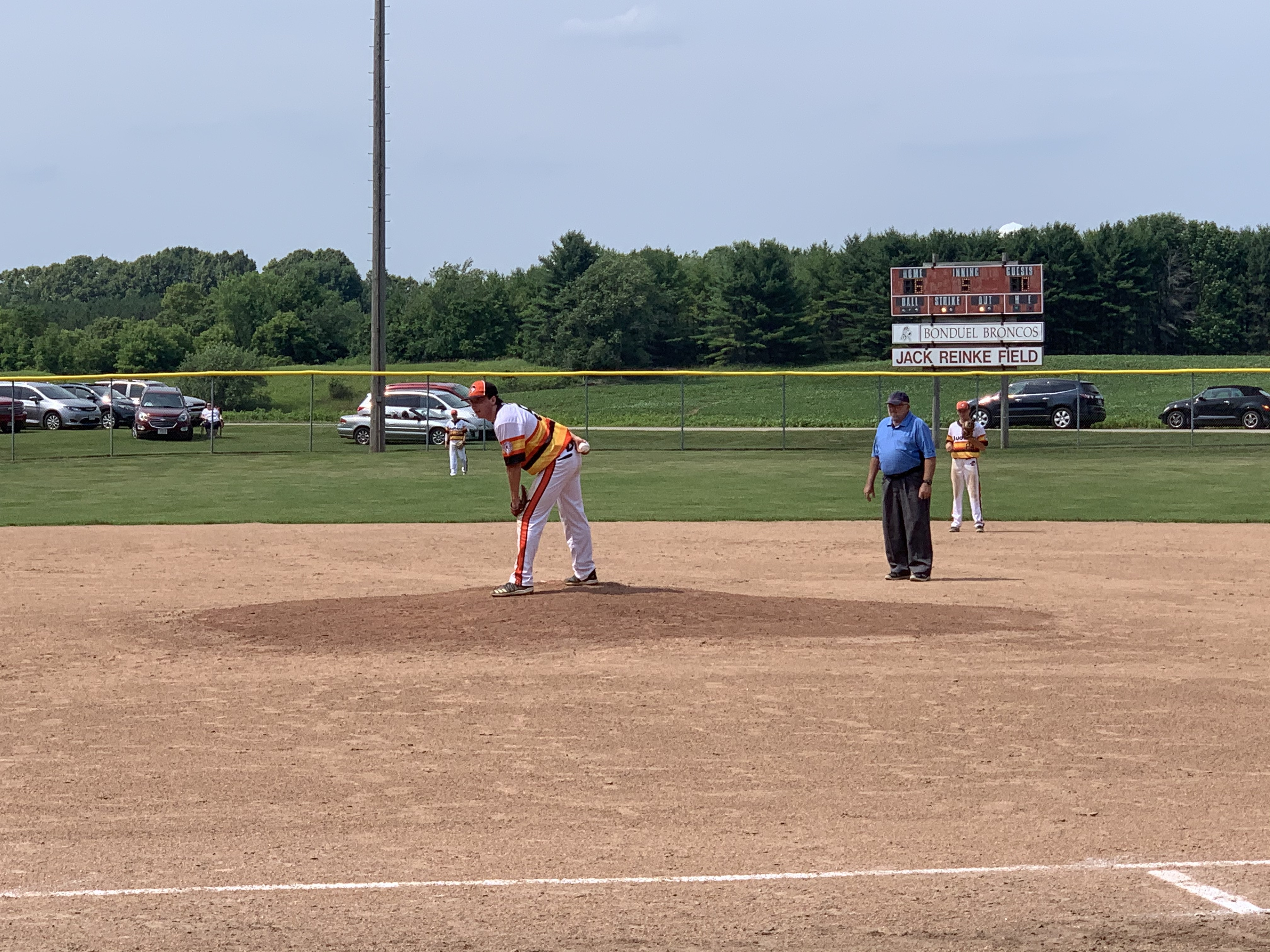 A Dairyland game was played between teams from Cecil and Bonduel at the baseball diamond at Village Park in Bonduel on July 4.Luke Reimer | NEW Media