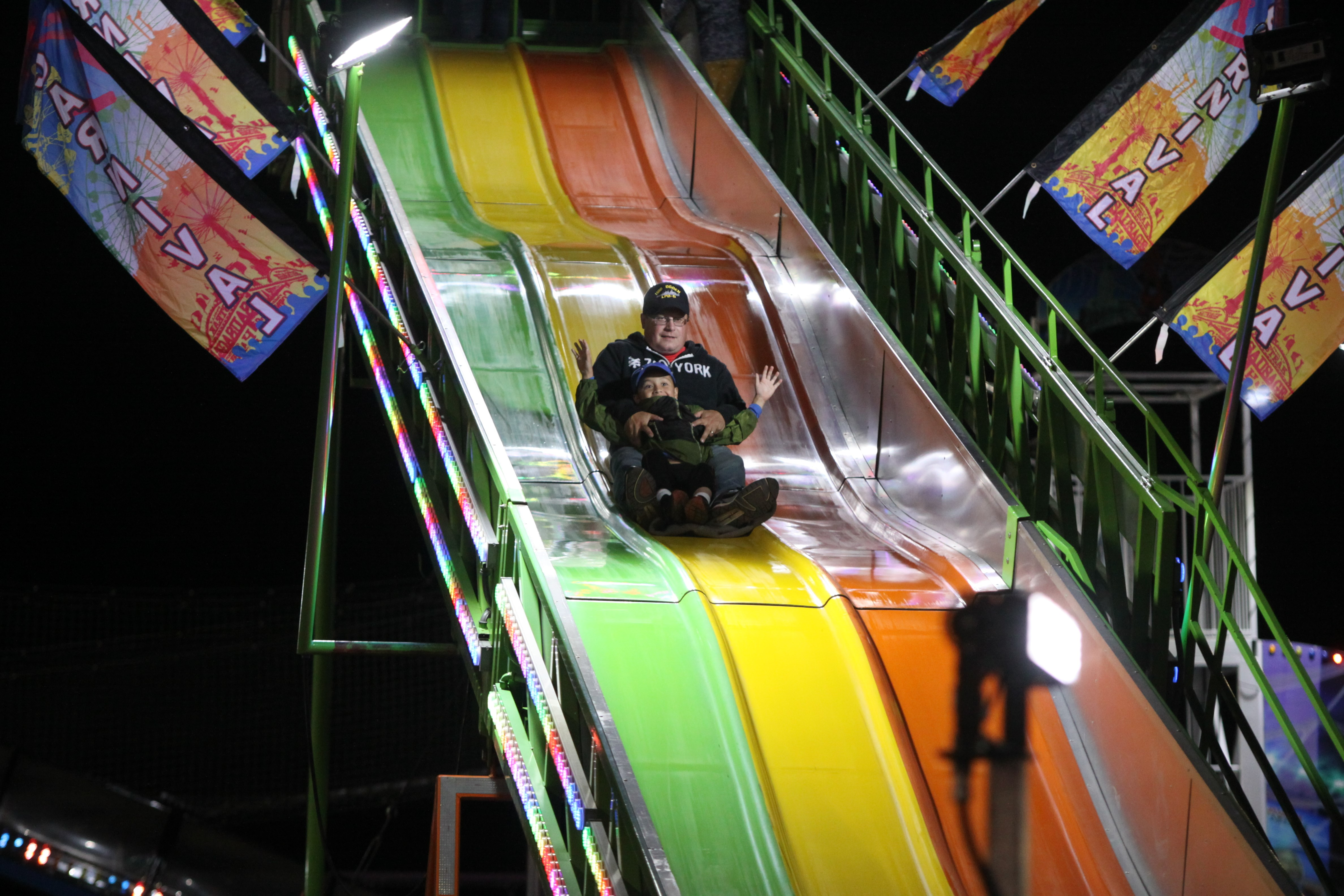 People of all ages enjoyed the Shawano County Fair on Sept. 4.<br />(Morgan Rode   NEW Media)