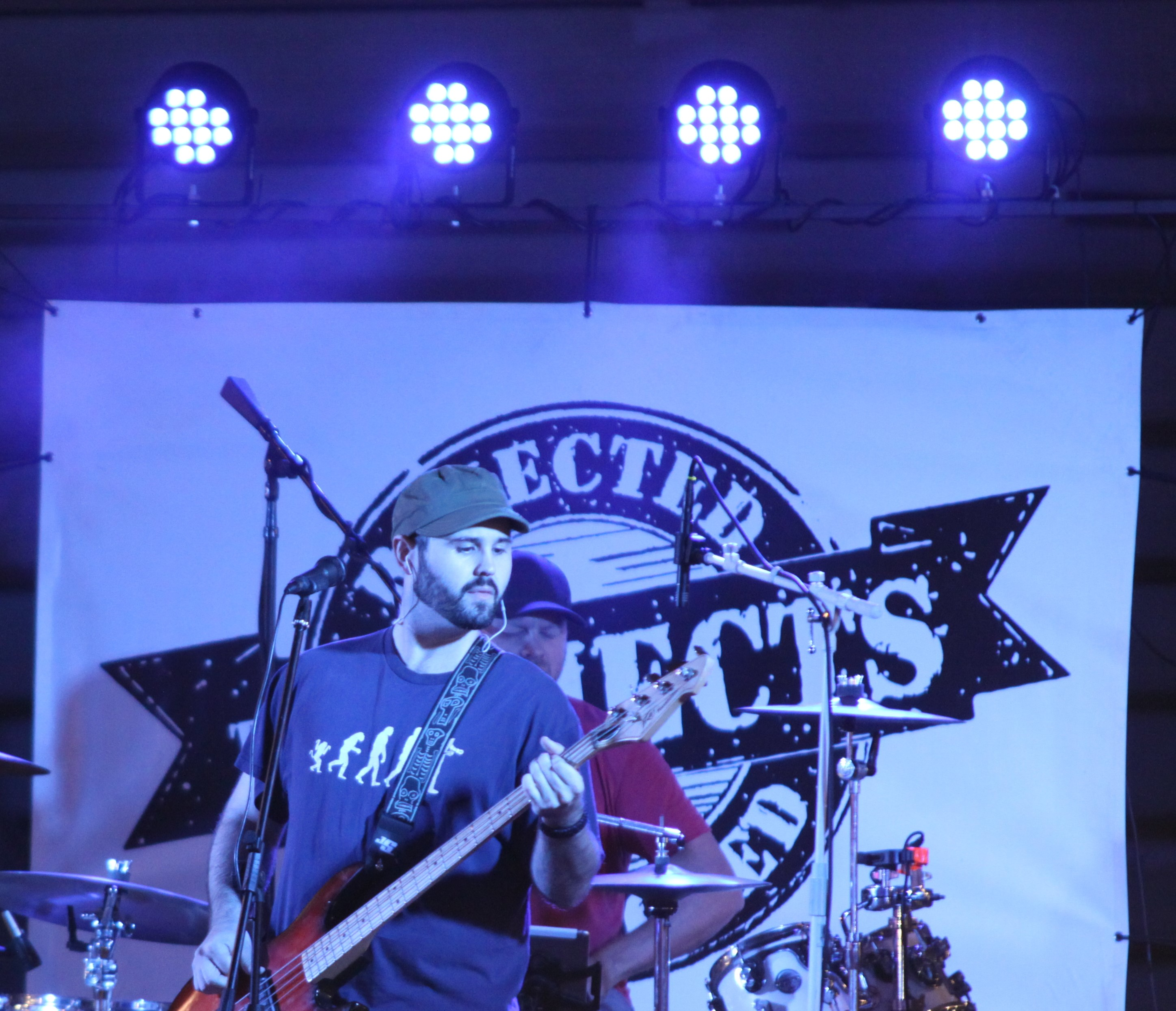 The Rejects performed for a crowd of people at the Shawano County Fair on Sept. 4.<br />(Morgan Rode   NEW Media)