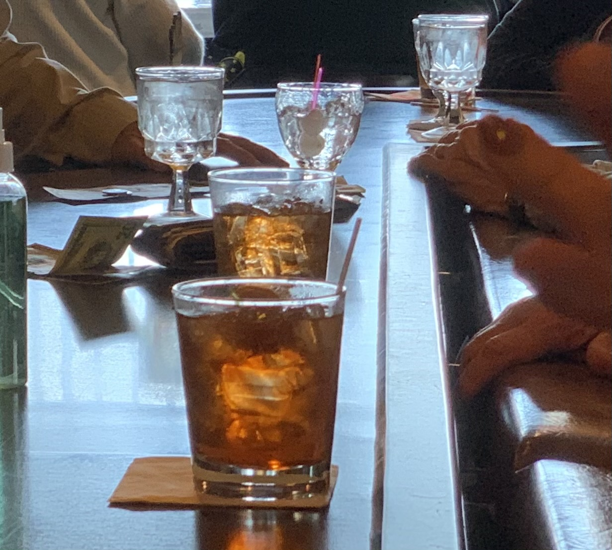 The Spinning Wheel Inn has been known for its steak dinners and old fashioneds by Shawano County residents. Customers came in for one last old fashioned at the Spinning Wheel on April 29 before the Lemhouses leave.Luke Reimer | NEW Media
