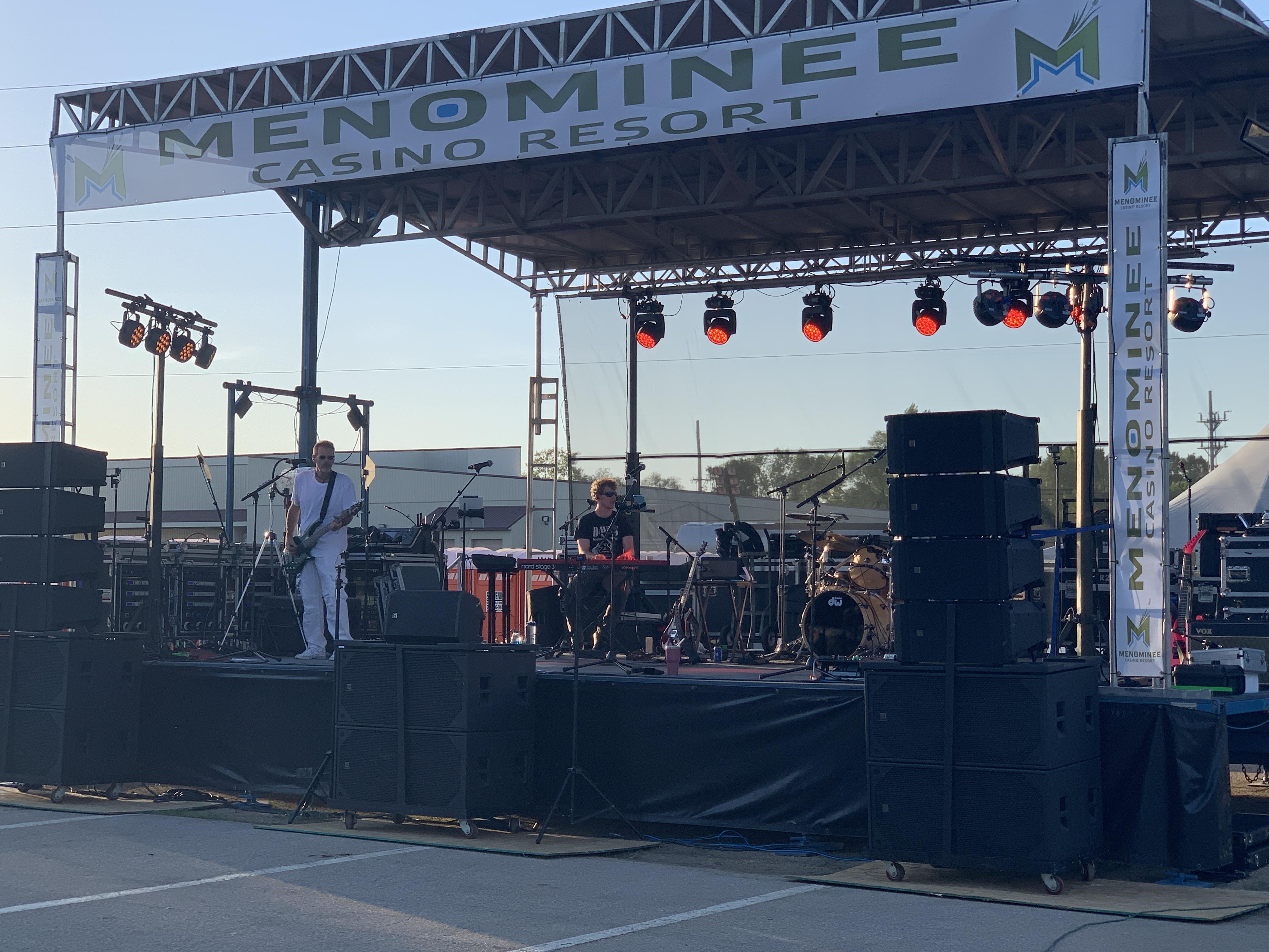 TravAce and the Generators provide live music to help kick off summer at Shawano's Sun Drop Dayz on June 4.Luke Reimer   NEW Media