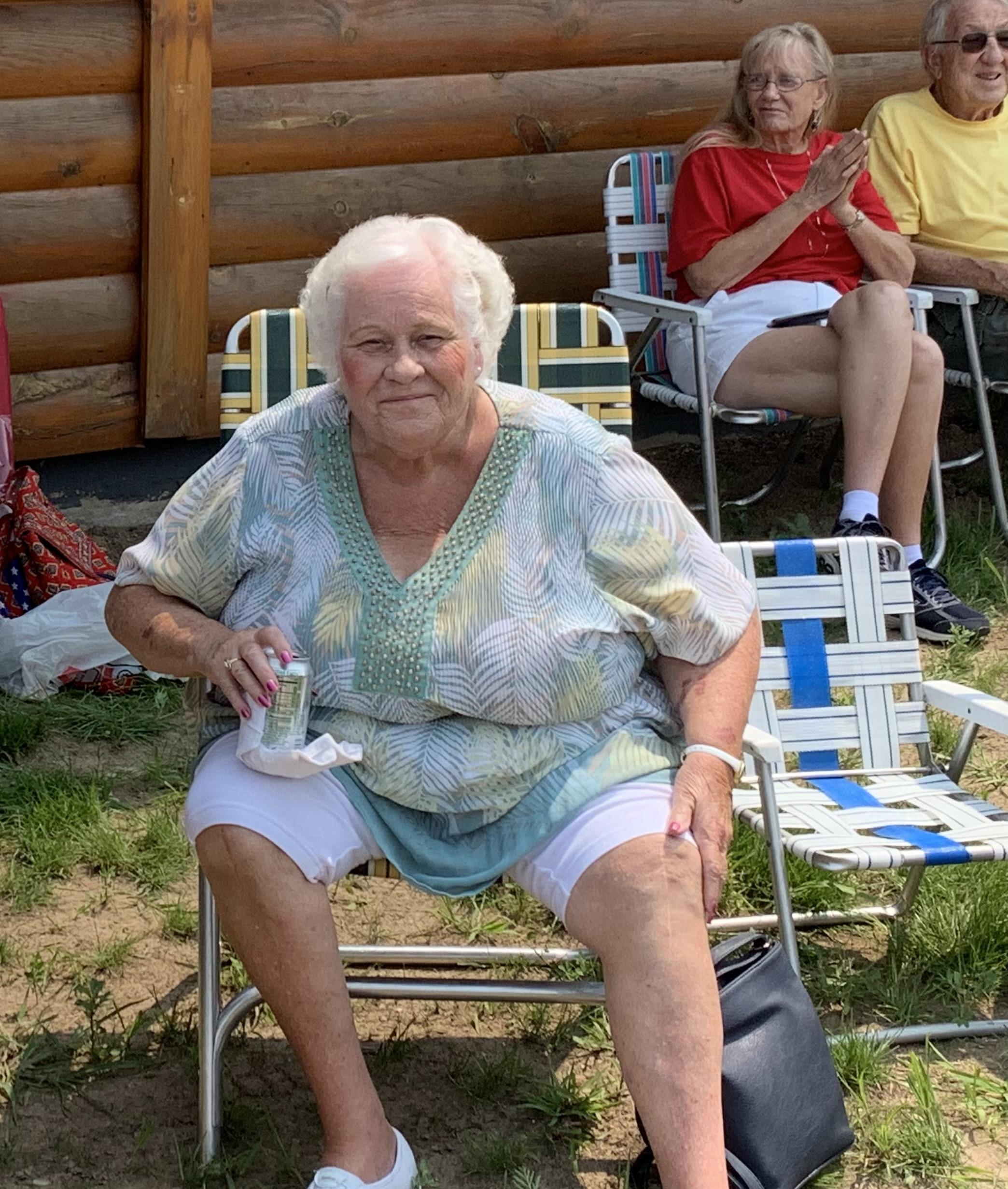 Ginny Huberty from Green Bay is all smiles as she attends her 30th Pulaski Polka Days celebration.Luke Reimer   NEW Media
