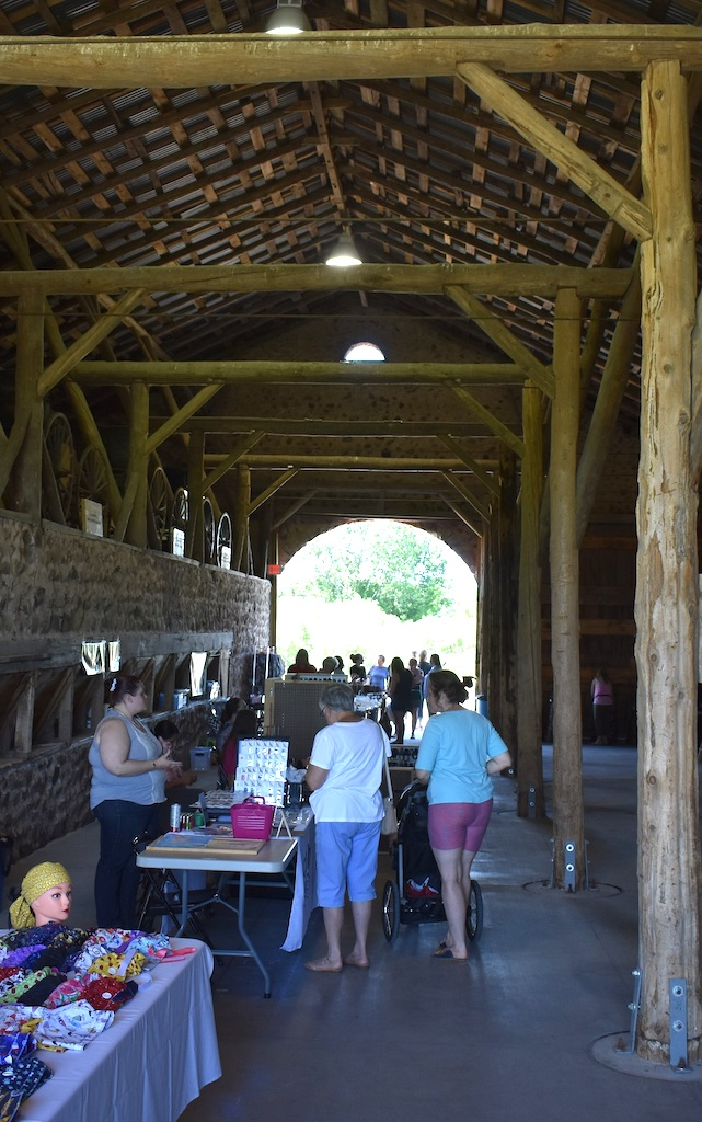 Built from fieldstone in 1903, the Chase Stone Barn has been restored with private and public dollars over the past 20 years and is now a popular venue for weddings and other events, like the June 13 craft show.<br />Warren Bluhm | NEW Media