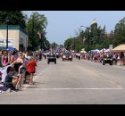 Many Pulaski residents and visitors packed Pulaski Street on July 18 in anticipation of the Polka Days Parade getting started.  Luke Reimer | NEW Media