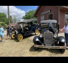 Classic cars were on display in Heritage Park at Rhubarb Fest on June 19 to help celebrate the history of Shawano.  Luke Reimer | NEW Media