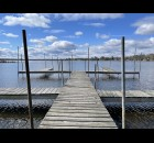 Cold weather and blue skies over Shawano Lake Wednesday morning, April 21. Greg Mellis | NEW Media